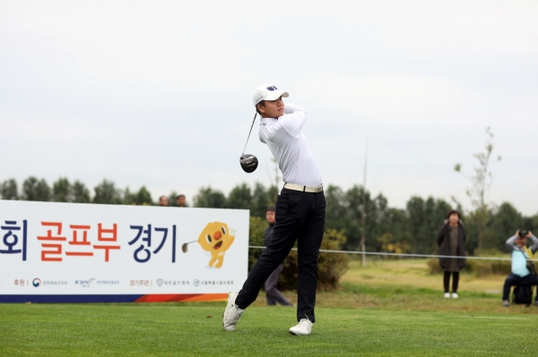장유빈, 서어진 전국체전 골프 남녀부 2관왕