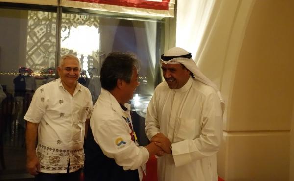 이기흥 대한체육회장, 알사바 OCA 회장과의 면담서 도쿄올림픽 관련 각종 현안 논의